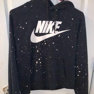 Nike semi-cropped Hoodie